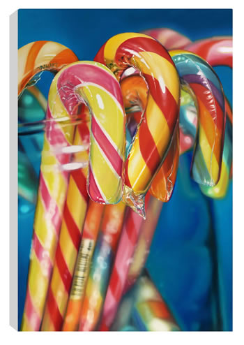 Candy Canes by Sarah Graham