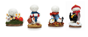 A Smile for all Seasons, (limited edition sculpture) by Doug Hyde