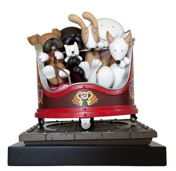 Fancy A Spin by Doug Hyde - Porcelain