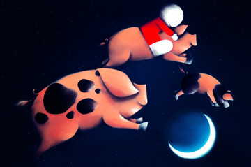 Pigs Might Fly by Doug Hyde