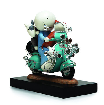 The Modfather, (limited edition sculpture) by Doug Hyde