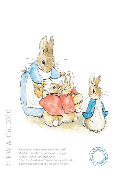 Flopsy, Mopsy, Cotton-tail & Peter by Beatrix Potter
