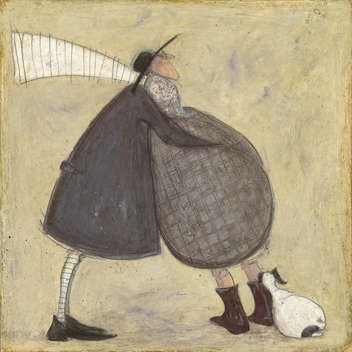Lean on Me by Sam Toft