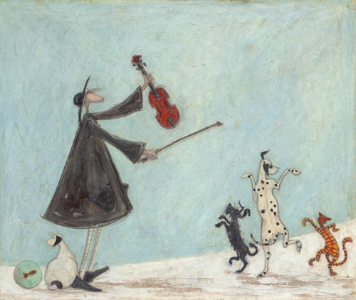 For I am the Lord of the Dance, Said He by Sam Toft