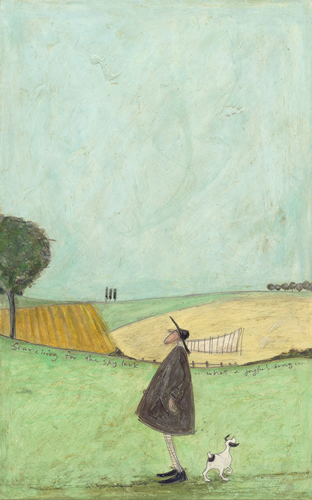 Searching for the Skylark by Sam Toft