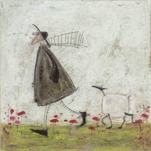 Walking the Sheepster by Sam Toft