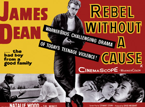 QuayGallery.net Rebel Without a Cause, canvas poster