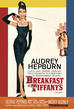 QuayGallery.net Breakfast at Tiffany's, canvas poster